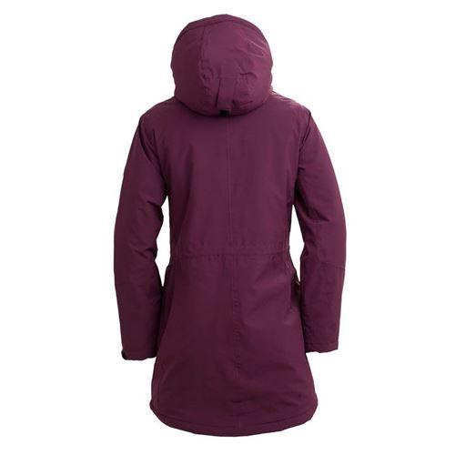 Tuxer Fey - Åndbar vind-/vandtæt jakke med foer W/R 10000 Dark Wine