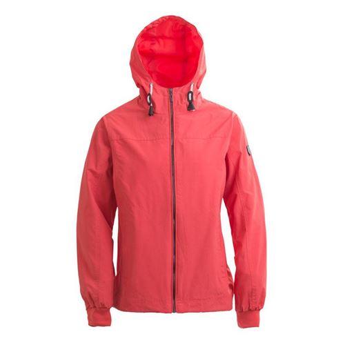 Tuxer Bea bygetæt jakke forår/sommer - Coral Red