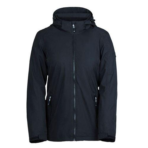 Tuxer Thea vind- og vandtæt jakke W/R 5000 forår/sommer - Sort