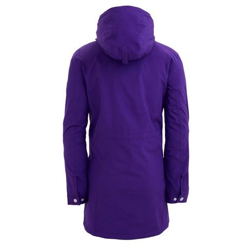 Tuxer Nicolette vind- og vandtæt jakke W/R 5000 - Purple