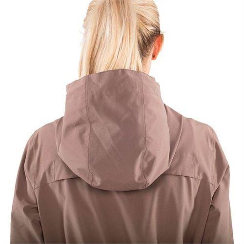 Tuxer Stay - Åndbar vind-/vandtæt jakke W/R 10000, Earth - Large