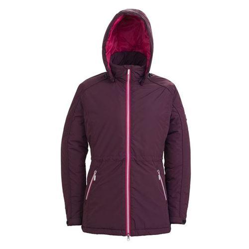 Tuxer Aina vind- og vandtæt jakke W/R 3000 Vinrød