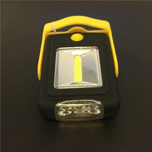 Kombineret lygte og lampe m/krog og magnet