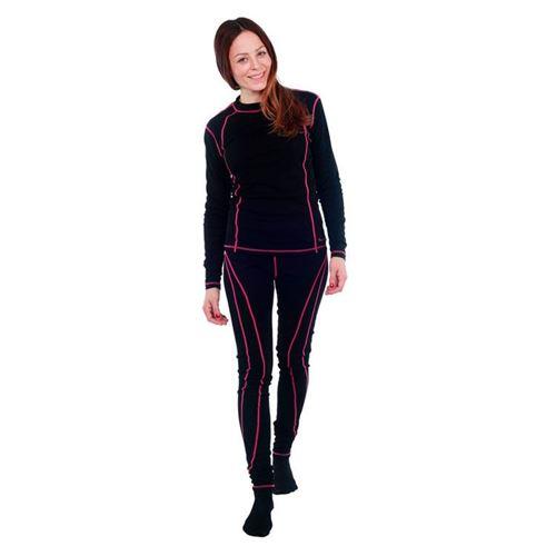 Tuxer Nuuk - skiundertøjsæt med uld - dame