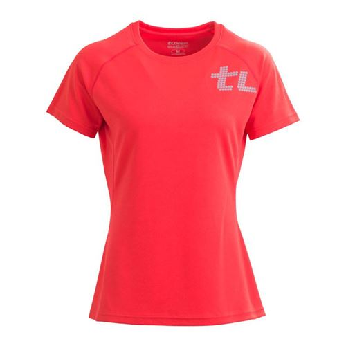 Tuxer Cygo Lady Shirt - Coral red - Recycled Polyester