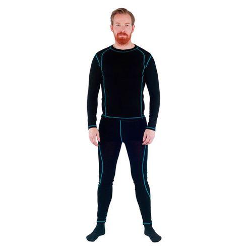 Tuxer Nuuk - skiundertøjsæt med uld - herre