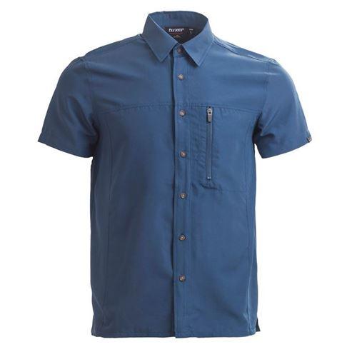 Tuxer Field Herre skjorte Midnight Navy - Str. M