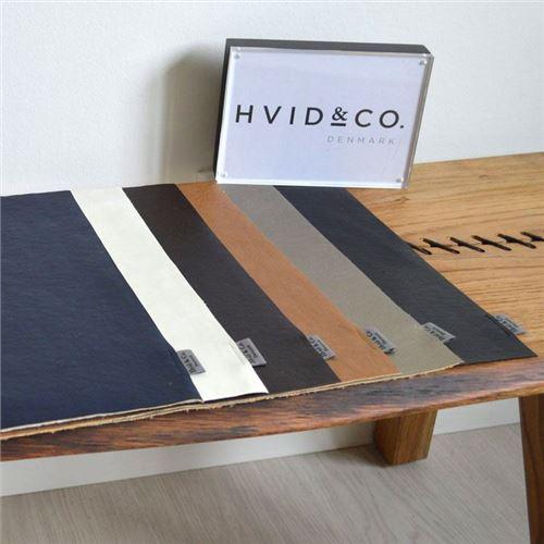 Dækkeserviet - læder-look - rektangulær Hvid & co - vælg farve