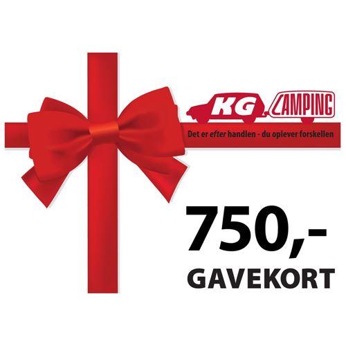 Gavekort 750 kr.