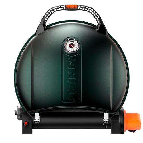 O-Grill 900T gasgrill - m termometer/gasstuds - Green