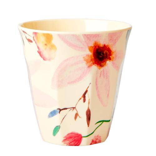 RICE krus Selmas flower print
