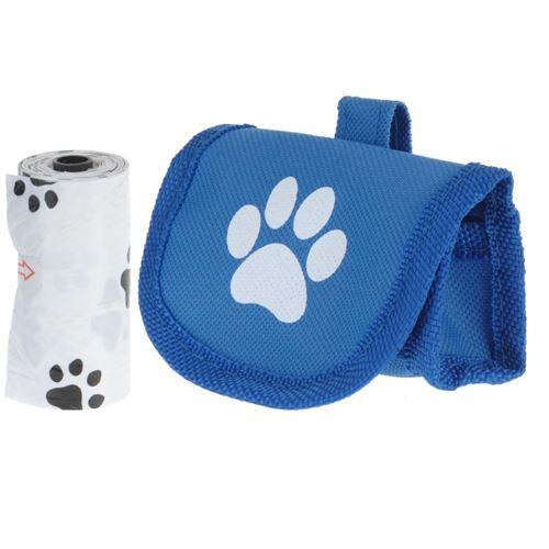 Taske til hundeposer - sort el. blå