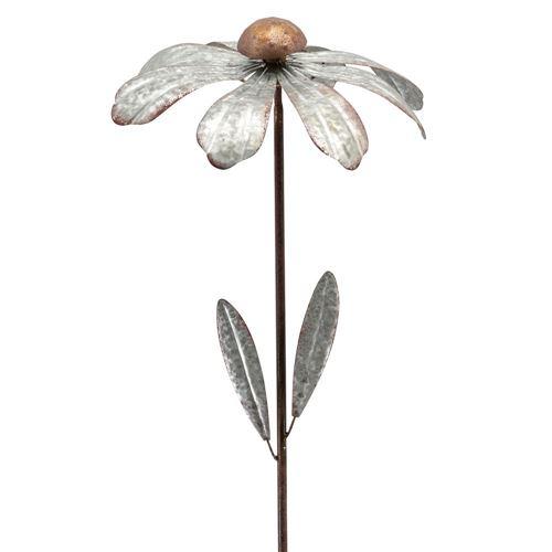 Blomst vindhjul i zink