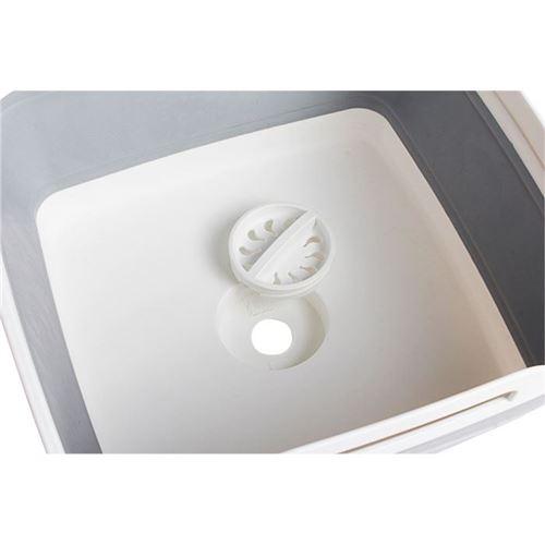 BRUNNER Foldbar opvaskebalje med afløb - Forudbestil