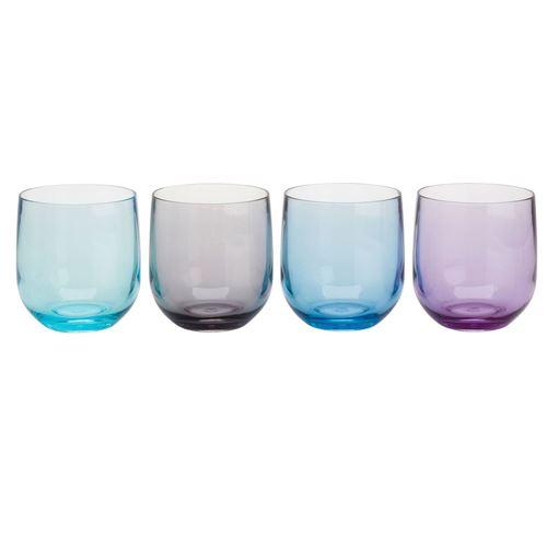 Flamefield Moonstone vandglas i 4 farver
