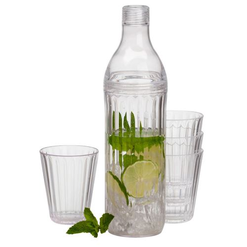Royal Kande 1L + 4 glas