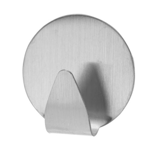 Selvklæbende krog - metal - 4 stk