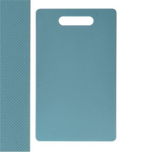 Skærebræt i plast 24 x 15 x 3cm - vælg farve