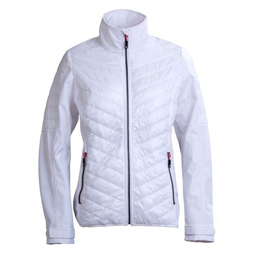 Tuxer Harla hybrid jakke - Hvid