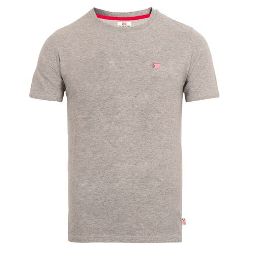 The Defender T-shirt Elton gråmeleret Str. S