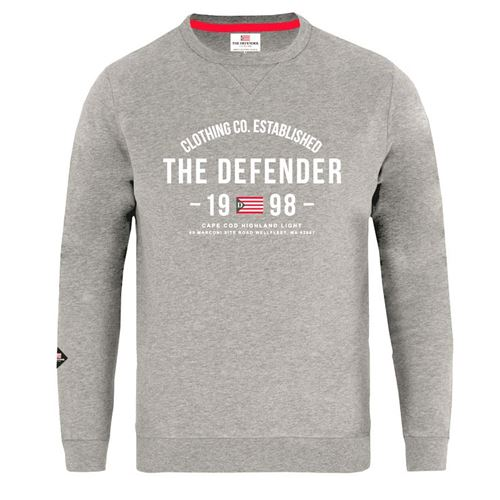 The Defender Ewan Sweatshirt Meleret grå