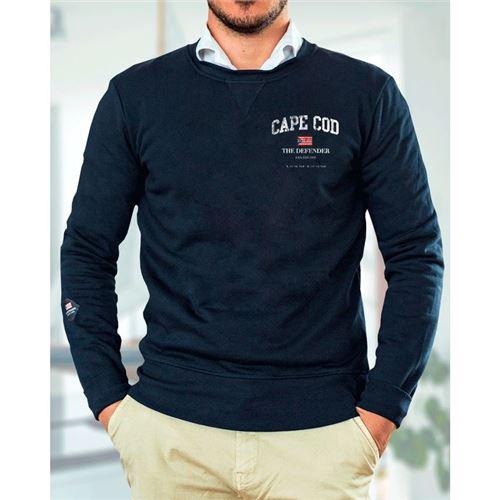 The Defender sweatshirt Emil mørk blå