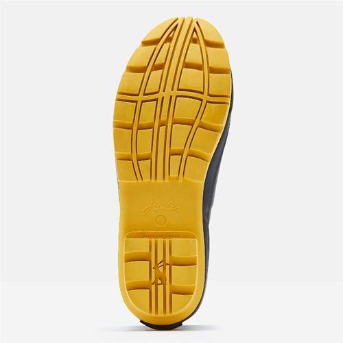 Tom Joules gummistøvle kort sort med bi