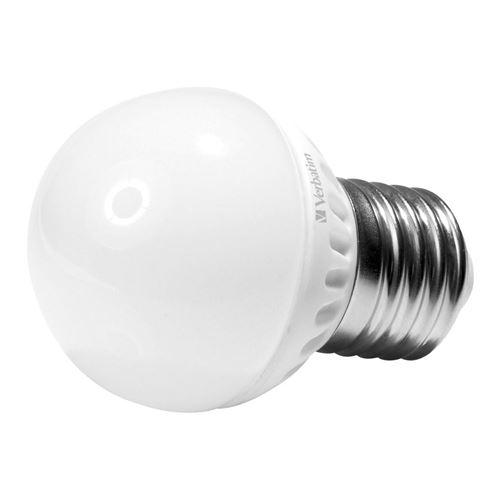 Verbatim LED miniglobe, E27 fatning, 3,5 W