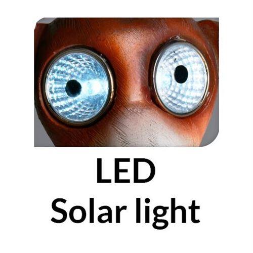 Funny dog, Led Solar lampe