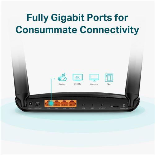 tp-link 4G Router passer til TERTEK antenne