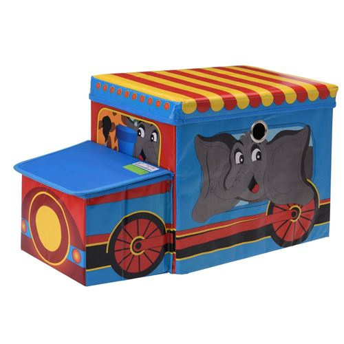 Sjov stor opbevaringsbox til legetøj - foldbar