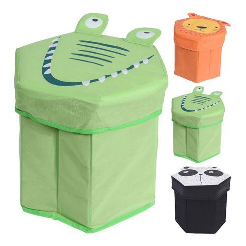 Sjov opbevaringsbox til legetøj - foldbar