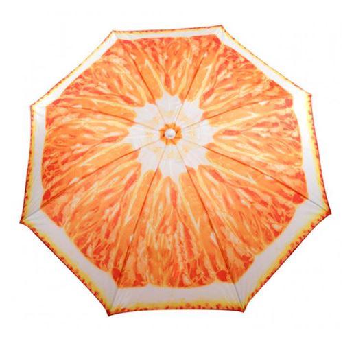 Strandparasol - Appelsin