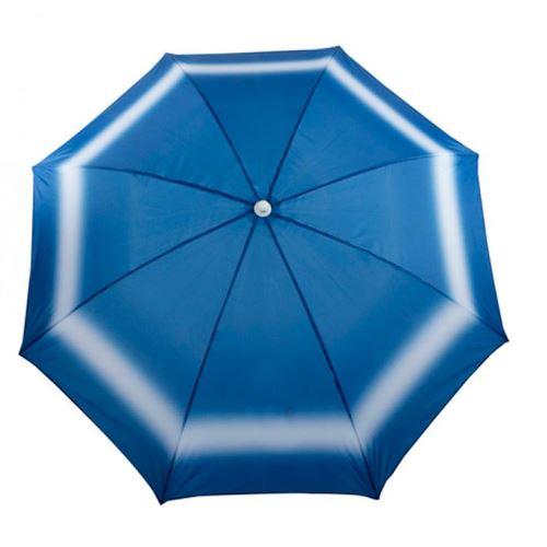 Strandparasol - Blå bølge - FORUDBESTIL