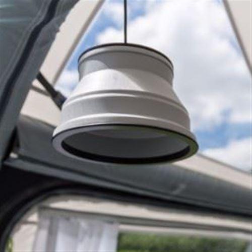 Kampa Groove foldbar campinglampe/ - LED m. lysdæmper