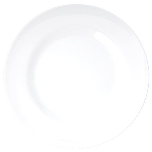 RICE Middagstallerken hvid Ø 25