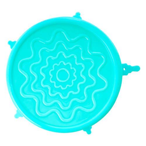RICE silikonelåg til skåle ø15cm - Isblå