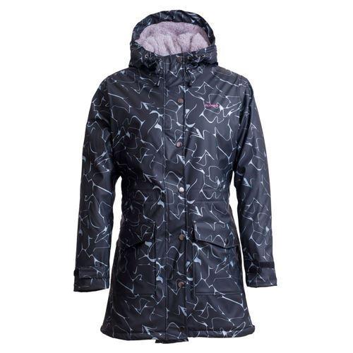 Tuxer Elisa lang regnfrakke med for - Marble Print