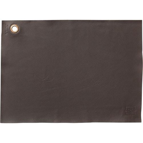 Rosendahl dækkeserviet brun læder, 43 x 30 cm NYHED