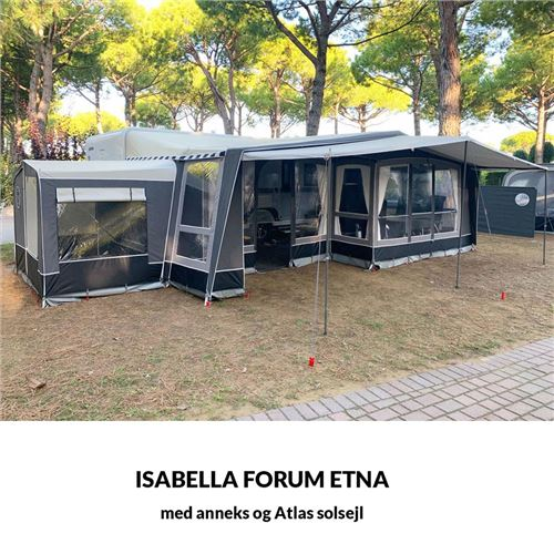 Isabella Forum Etna A950/G18 - Tilkøb stænger