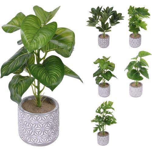 Kunstig plante i potte
