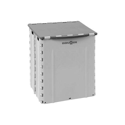 Foldbar affaldsspand, Plitter