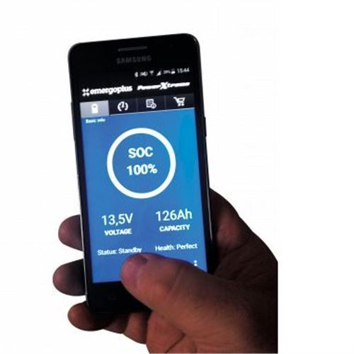 Batteri Lithium Power X-treme X125 - til alle movere + forbrug