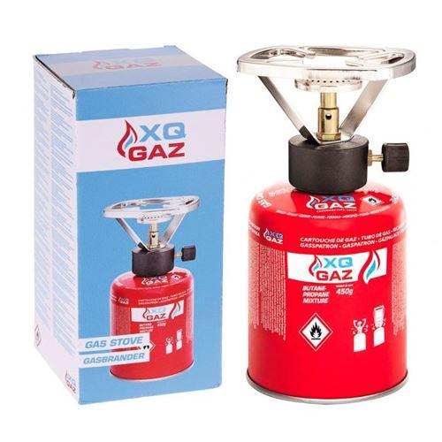 XQ Gaz - Gasdåse og brænder