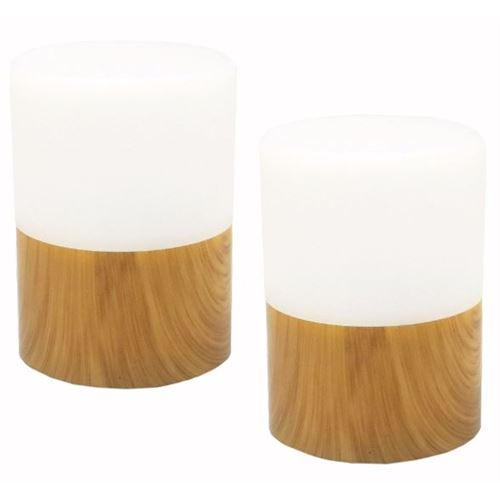 Bordlampe RY - bambus - pk. m/2 stk