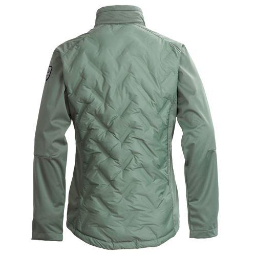 Tuxer Hanna hybrid jakke - Sea Spray | Green Choise