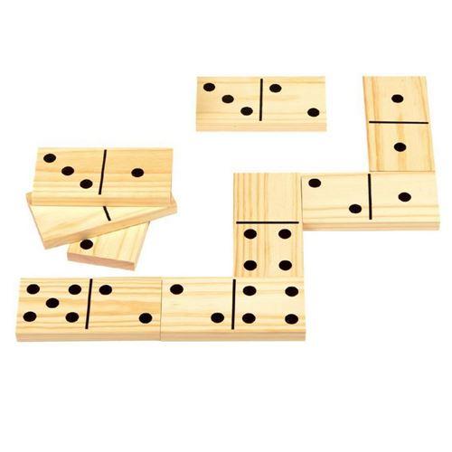 XXL Domino-spil træ