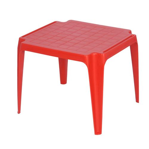 Stabelbar plastborde til børn - 6 farvevarianter