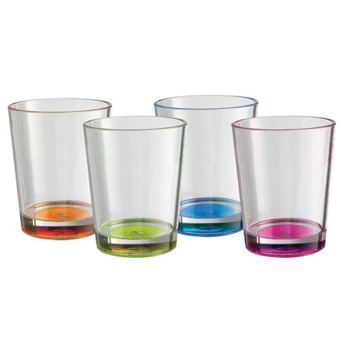 Brunner Drikkeglas med antislip 30 cl. 4 stk.