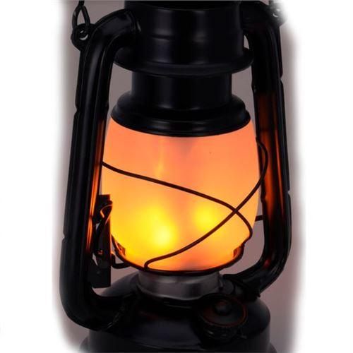 Stormlanterne med LED-lys